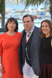 Timothy Spall & Marion Bailey & Dorothy Atkinson Stock Photos