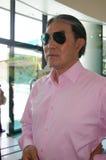 Timothy Tsun-Ting FOK em promover jogos dos Olympics, Hong Kong. Imagem de Stock Royalty Free