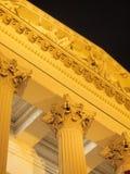 Timpaan van Nationaal Museum Stock Foto
