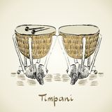 Timpani Royalty Free Stock Photography