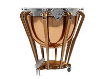 Timpani isolated on white 3D rendering Royalty Free Stock Photos