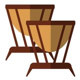 Timpani musical instrument flat icon. Vector sign, colorful pictogram isolated on white. Symbol, logo illustration. Flat style design Royalty Free Stock Photo