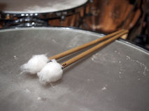 Timpani sticks Stock Image
