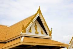 Timpano del tetto Fotografia Stock