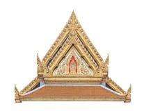 Timpano tailandese del tempio buddista con l'apex Immagini Stock Libere da Diritti