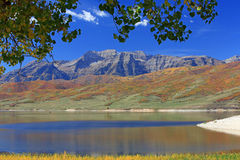Timpanogos from Deer Creek. Stock Photography