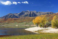 Timpanogos from Deer Creek. Royalty Free Stock Photo