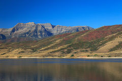 Timpanogos und Deer Creek Stockfoto