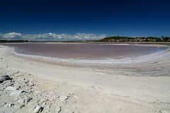 Timperley湖 rottnest的海岛 澳大利亚西部 澳洲 免版税库存照片