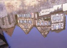 timrade half hus Royaltyfria Bilder