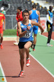Timur Khusnulin from Uzbekistan running Stock Photo