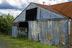 Tin Barn Stock Photo