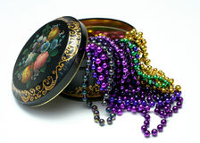Tin and Beads 4 Royalty Free Stock Photos