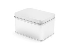 Tin box Stock Image