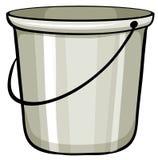 Tin bucket Stock Photography