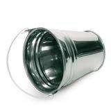 Tin bucket Stock Image