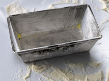 Tin cake mould Stock Photography