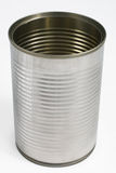 Tin can. Isolated on a white background Stock Images
