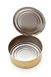 Tin can. On white background Royalty Free Stock Image