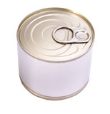Tin can stock photos