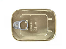 Tin Can. Numbers altered Royalty Free Stock Photos