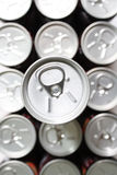 Tin Can Background Royalty Free Stock Photo