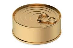 Tin can closeup Royalty Free Stock Photography