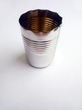 Tin can, empty Stock Images