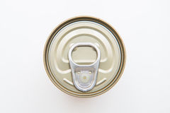 Tin can food with easy open Royalty Free Stock Photo