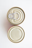Tin can food with easy open Stock Images