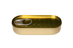 A tin can Royalty Free Stock Images