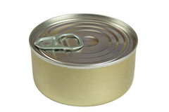 Tin can isolated Royalty Free Stock Photo