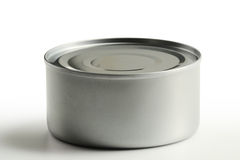 Tin can isolated on white Royalty Free Stock Image