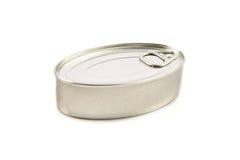 Tin can isolated on white. Stock Photos