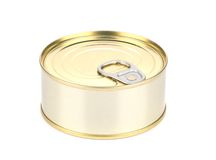 Tin can. Stock Photo