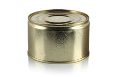 Tin can isolated Stock Images
