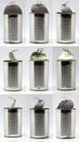 Tin can Royalty Free Stock Images