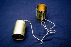 Free Tin Can Phone Royalty Free Stock Photo - 27231125