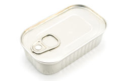 Tin Can of Sardines royalty free stock images