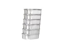 Tin can stack Stock Photography