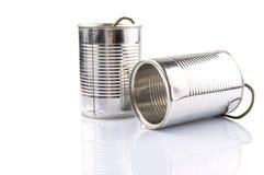 Tin Can Telephone X Imagen de archivo
