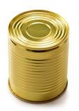 Tin can  on white Royalty Free Stock Photo