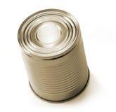 Tin can  on white Stock Photos