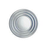 Tin can on white background view from the top Royalty Free Stock Photos