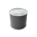 Tin can for your design Royalty Free Stock Image