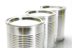 Tin Canisters Stock Photography