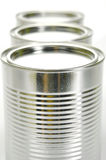 Tin Canisters Stock Photos