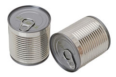 Tin of canned Stock Image