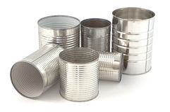 Tin cans Royalty Free Stock Image