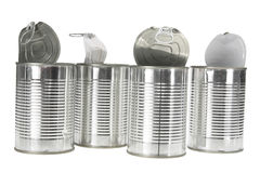 Tin Cans Stock Images